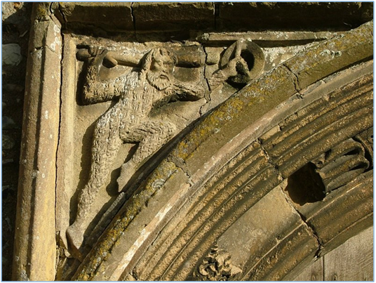Wildman, Parish Church of St. Mary, Cratfield, Suffolk, England, 15th century. Photo: Sarah Blick